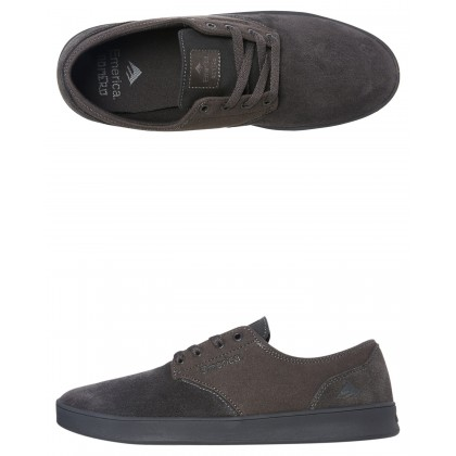 Romero Laced Shoe Charcoal