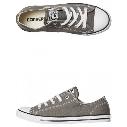 Chuck Taylor Womens All Star Dainty Lo Shoe Charcoal