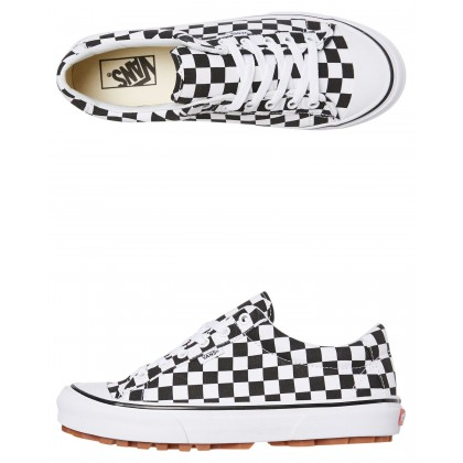 Womens Style 29 Shoe Check White