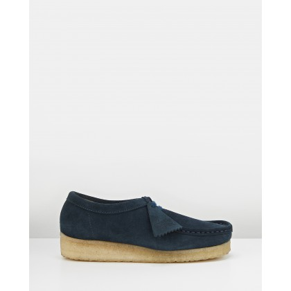 Wallabee 2 - Women's Midnight Suede by Clarks