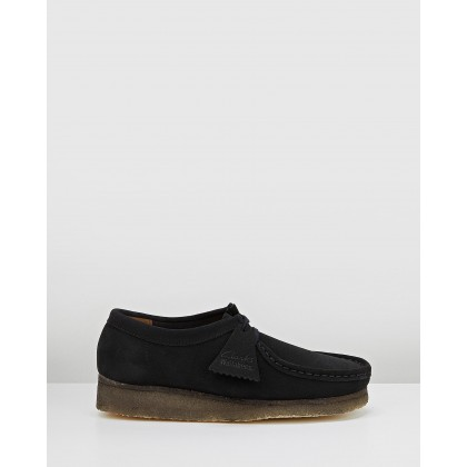 Wallabee 2 - Women's Black Suede by Clarks