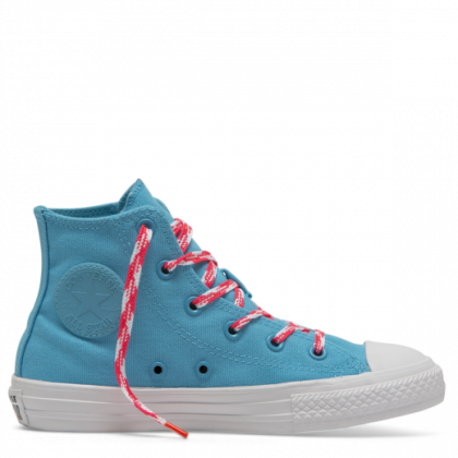 Chuck Taylor All Star Glow Up Junior High Top Gnarly Blue