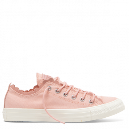Chuck Taylor All Star Frilly Thrills Low Top Bleached Coral