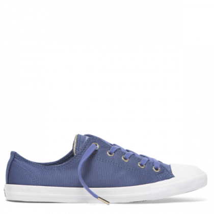 Chuck Taylor All Star Dainty Summer Palms Low Top Washed Indigo