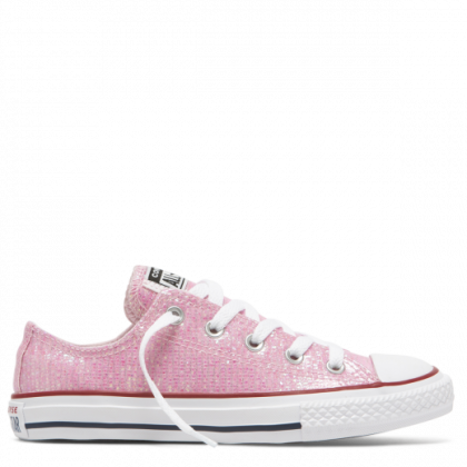 Chuck Taylor All Star Sparkle Junior Low Top Pink Foam