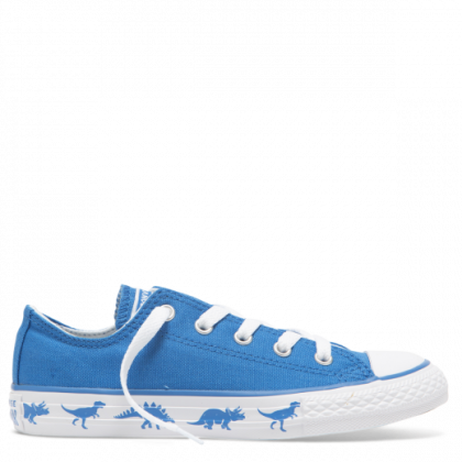 Chuck Taylor All Star Dinoverse Junior Low Top Totally Blue