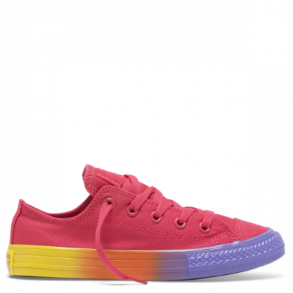 Chuck Taylor All Star Rainbow Ice Junior Low Top Strawberry Jam