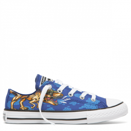 Chuck Taylor All Star Dinos Beach Party Junior Low Top Blue
