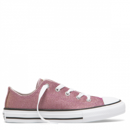 Chuck Taylor All Star Space Star Junior Low Top Barely Rose