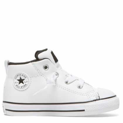 Chuck Taylor All Star Street Spring Essentials Toddler Mid White
