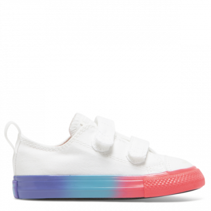 Chuck Taylor All Star Rainbow Ice Toddler 2V Low Top White