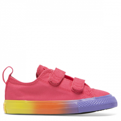 Chuck Taylor All Star Rainbow Ice Toddler 2V Low Top Strawberry Jam