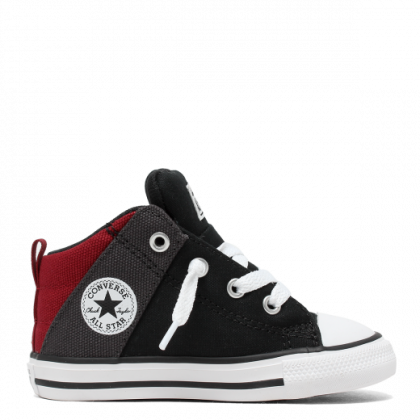 Chuck Taylor All Star Axel Canvas Toddler Mid Black