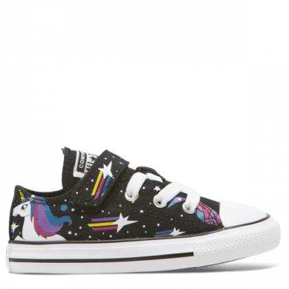 Chuck Taylor All Star Unicorns 1V Toddler Low Top Black
