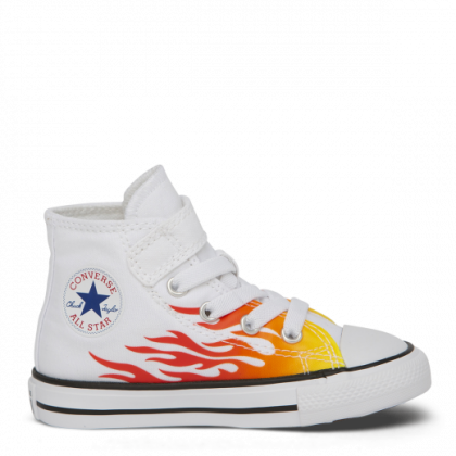 Chuck Taylor All Star Archive Flame 1V Toddler Low Top White