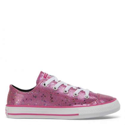 Chuck Taylor All Star Galaxy Glimmer Junior Low Top Mod Pink