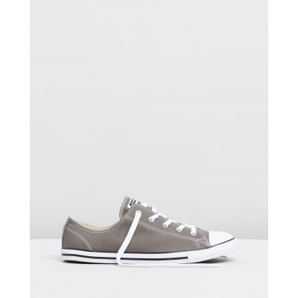 Chuck Taylor All Star Dainty Ox - Women's Charcoal by Converse