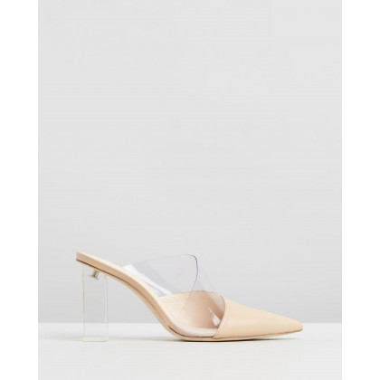 Krystle Mules Sand by Cult Gaia
