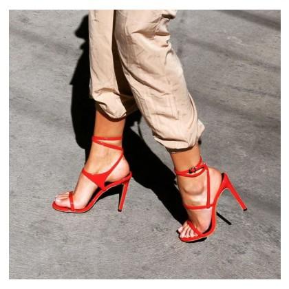 Dallas - Chilli Patent by Siren Shoes