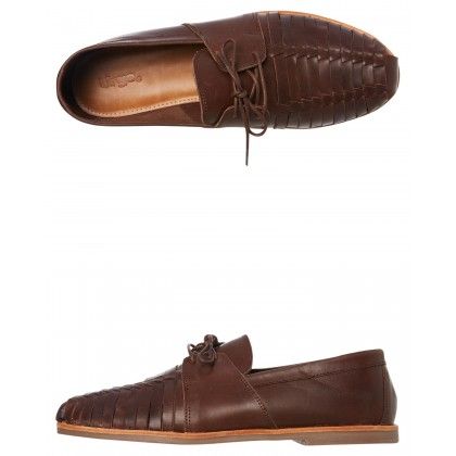 Mister Leather Shoe Dark Choc