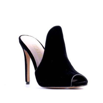 Dazia - Black Velvet by Siren Shoes