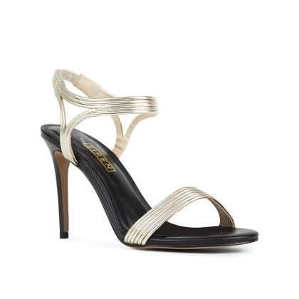 Dixon - Gold Kid Leather by Siren Shoes