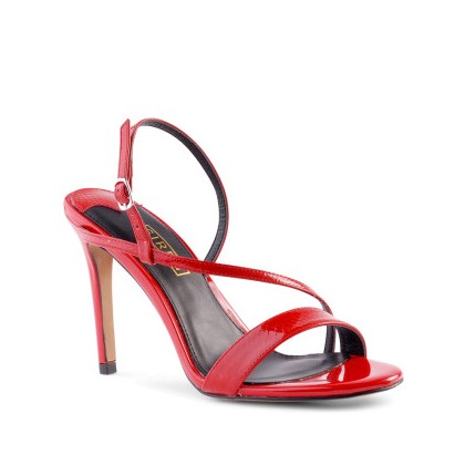 Dizzy - Chilli Patent Snake by Siren Shoes