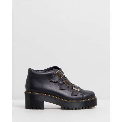 Coppola Buckle - Women's Black Wyoming by Dr Martens