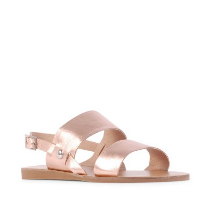 Becca II - Rose Gold Kid by Siren Shoes