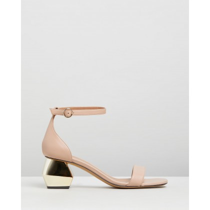 Sabo Buckled Sandals Carne by Emporio Armani