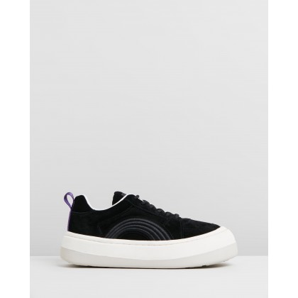 Sonic - Women's Black Suede by Eytys