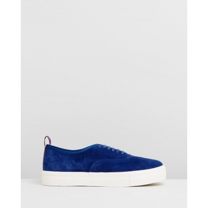 Mother - Unisex Cobalt Suede by Eytys