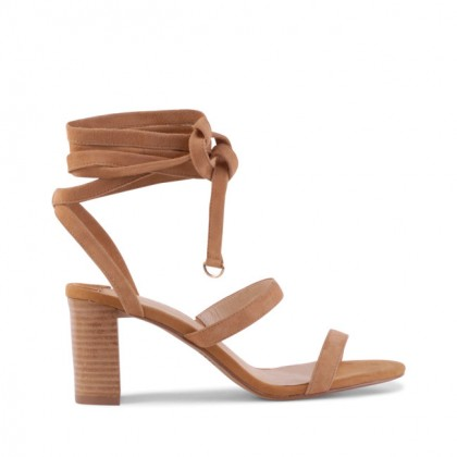 Flagstaff - Tan Suede by Siren Shoes