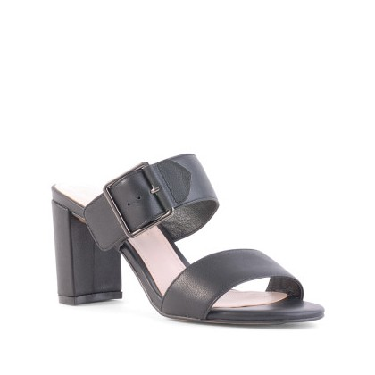 Flamingo - Black Nappa by Siren Shoes