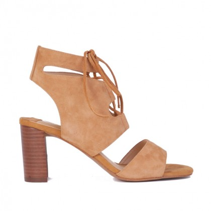 Flyer - Tan Suede by Siren Shoes