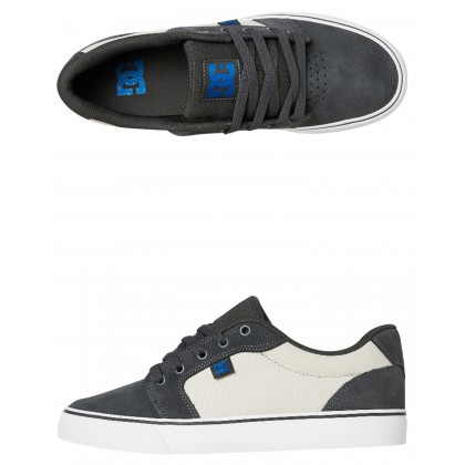 Mens Anvil Shoe Grey Blue