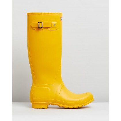Original Tall Boots - Women's Yellow by Hunter