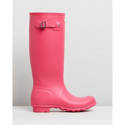 Original Tall Boots - Women's Bright Pink by Hunter