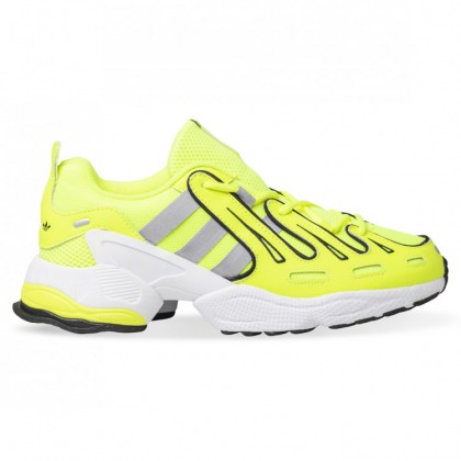 EQT GAZELLE Solar Yellow Silver Metallic Core Black