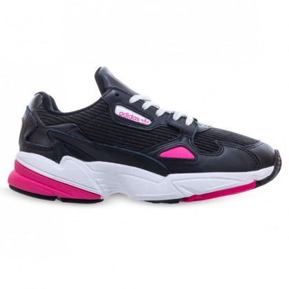 FALCON WOMENS Core Black Shock Pink Footwear White