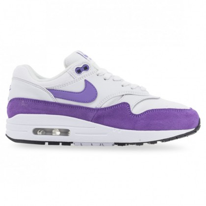 AIR MAX 1 WOMENS Summit White Atomic Violet Black