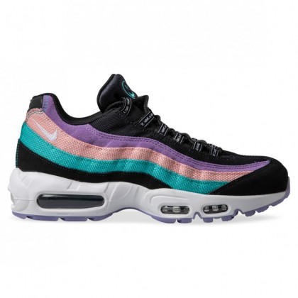 AIR MAX 95 HAVE A NIKE DAY Black White Hyper Jade Bleached Coral