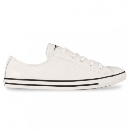 ALL STAR DAINTY OX White Leather