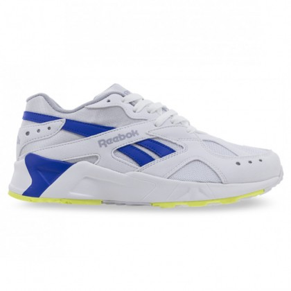 AZTREK 90s-White Cold Grey Crushed Cobalt Neon Lime