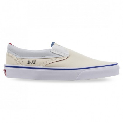CLASSIC SLIP-ON Natural Navy Red