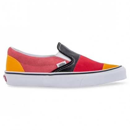 CLASSIC SLIP-ON Patchwork Multi True White