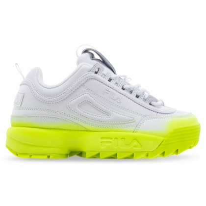 DISRUPTOR II WOMENS White White Safety Yellow
