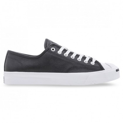 JACK PURCELL LEATHER Black White White