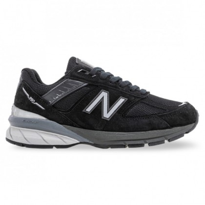 990v5 WOMENS MADE IN USA Black Silver