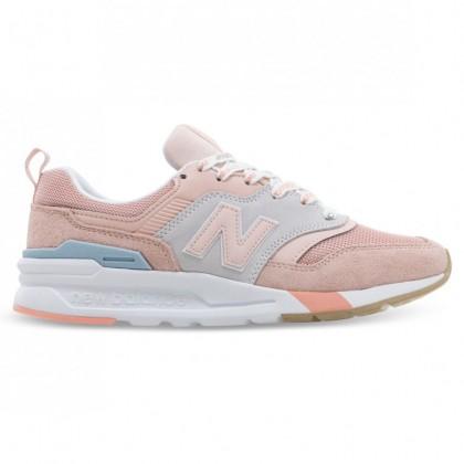 997H WOMENS Grey Pastel Pink